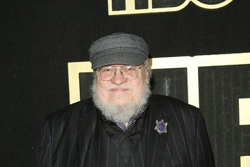 George R.R. Martin HBO's Post Emmy Awards Reception - Arrivals