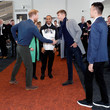 George Russell The Duke Of Sussex Officially Opens The Silverstone Experience