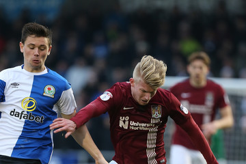 George Smith Northampton Town v Blackburn Rovers - Sky Bet League One