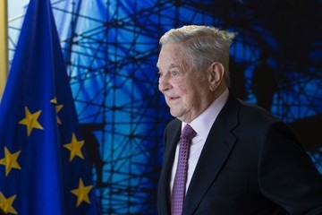 George Soros Georges Soros Meets EU Commission President Jean-Claude Juncker for Talks Focusing on Hungary