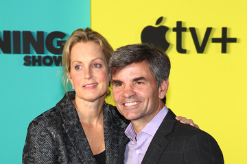 """George Stephanopoulos Ali Wentworth Apple TV+'s """"The Morning Show"""" World Premiere"""