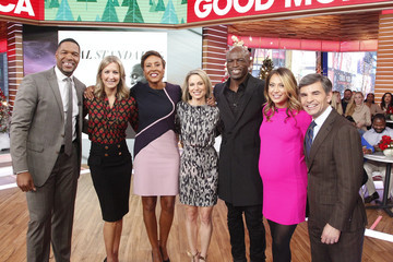 "George Stephanopoulos Amy Robach ABC's ""Good Morning America"" - 2017"