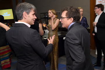 George Stephanopoulos 2019 A Funny Thing Happened On The Way To Cure Parkinson's - Arrivals