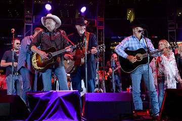 George Strait Ray Benson George Strait's The Cowboy Rides Away Tour Final Stop At AT&T Stadium - Show