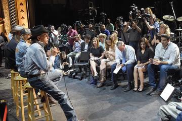 George Strait George Strait Holds Press Conference for RebuildTX.org Prior to Hand in Hand Texas Benefit Concert