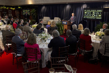 George W Bush LBJ Presidential Library Hosts Summit