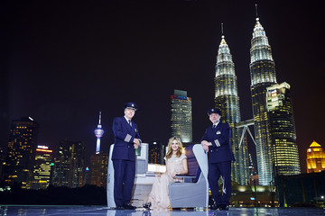 Georgia May Jagger Michelle Yeoh, Jimmy Choo and Georgia May Jagger Launch British Airways Daily Services to Malaysia
