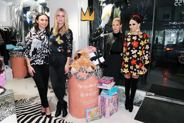 Georgina Bloomberg alice + olivia by Stacey Bendet x GOOD+ Foundation Toy Drive Kick-Off