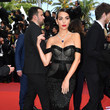 Georgina Rodríguez 'Once Upon A Time In Hollywood' Red Carpet - The 72nd Annual Cannes Film Festival