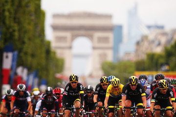 Geraint Thomas Le Tour de France 2015 - Stage Twenty One