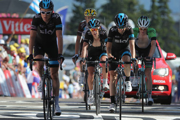 Geraint Thomas Le Tour de France: Stage 13