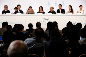 Gerard Lefort 'Nie Yinniang' Press Conference - The 68th Annual Cannes Film Festival