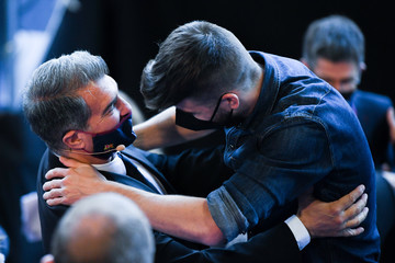 Gerard Pique Joan Laporte Is Inaugurated As New FC Barcelona President