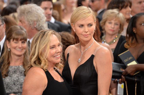 Photo of Charlize Theron & her Mother  Gerda Jacoba Aletta Maritz