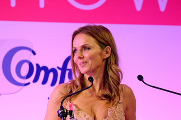 Geri Horner Breast Cancer Care London Fashion Show in Association With Comfort