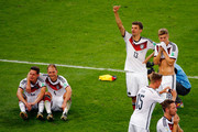 Germany celebrate after defeating Argentina 1-0 in extra time during the 2014 FIFA World Cup Brazil Final match between Germany and Argentina at Maracana on July 13, 2014 in Rio de Janeiro, Brazil.