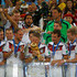 Andre Schuerrle Christoph Kramer Photos - Bastian Schweinsteiger of Germany kisses the World Cup trophy with teammates after defeating Argentina 1-0 in extra time during the 2014 FIFA World Cup Brazil Final match between Germany and Argentina at Maracana on July 13, 2014 in Rio de Janeiro, Brazil. - Germany v Argentina