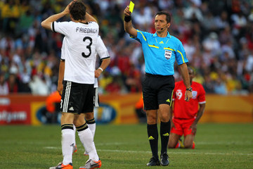 Jorge Larrionda Germany v England: 2010 FIFA World Cup - Round of Sixteen