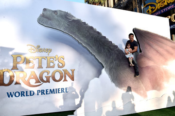 Gia Francesca Lopez Disney's 'Pete's Dragon' World Premiere in Hollywood