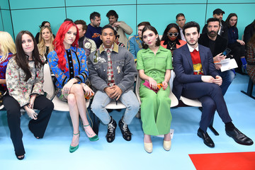 Giacomo Ferrara Gucci - Front Row - Milan Fashion Week Fall/Winter 2018/19