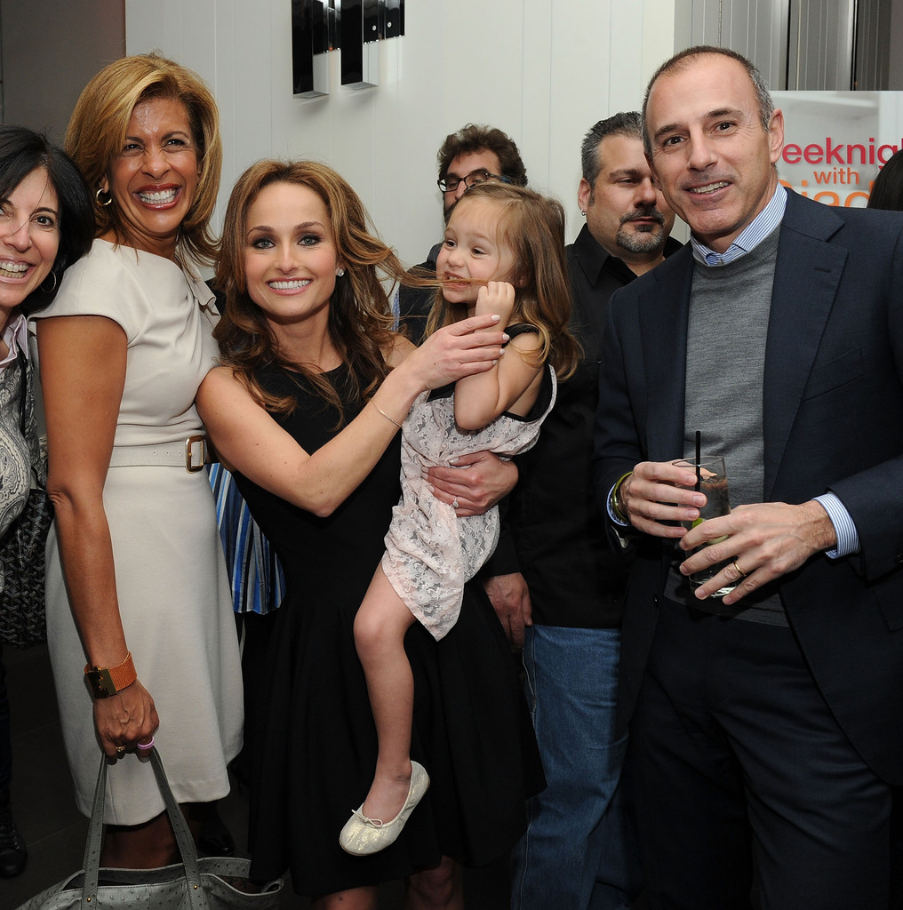 Giada De Laurentiis Hoda Kotb Matt Lauer Jade Marie De Laurentiis Thompson Hoda Kotb And Jade Marie De Laurentiis Thompson Photos Giada Delaurentiis Weeknights With Giada Book Launch Party Arrivals Zimbio