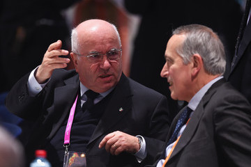 Giancarlo Abete Extraordinary FIFA Congress