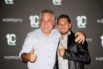 Giancarlo Fisichella Kaspersky Lab Italy 10th Anniversary Party
