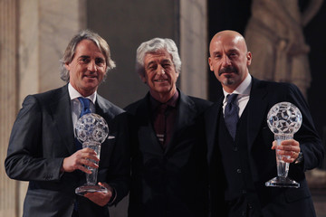 Gianluca Vialli Italian Football Federation 'Hall of Fame' Awards Ceremony