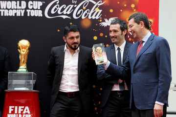 Gianluca Zambrotta FIFA World Cup Trophy Tour