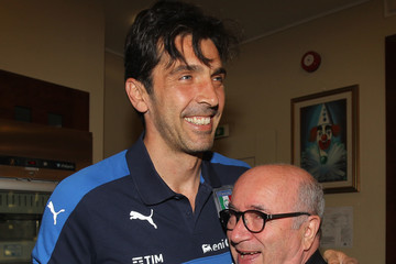 Gianluigi Buffon Italian Football Federation Sponsor's Day