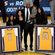 Gianna Maria-Onore Bryant Golden State Warriors v Los Angeles Lakers