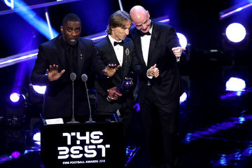 Gianni Infantino The Best FIFA Football Awards - Show