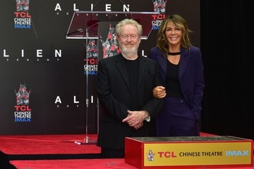 Giannina Facio Sir Ridley Scott Celebrates His Hand and Footprint Ceremony