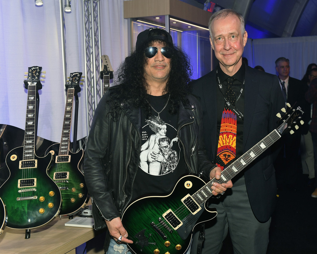 Henry Juszkiewicsz Photos Photos - Gibson Rocks Opening of ...