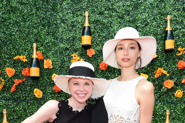 Gigi Burris The Eighth-Annual Veuve Clicquot Polo Classic - Red Carpet Arrivals