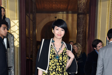 Gigi Leung Lanvin : Front Row - Paris Fashion Week Womenswear Spring/Summer 2016