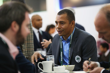 Gilberto Silva Soccerex Global Convention 2016 Day 2