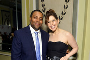 Kenan Thompson (L) and Vanessa Bayer attend the Gilda's Club NYC 24th Annual Gala at The Pierre Hotel on November 07, 2019 in New York City.