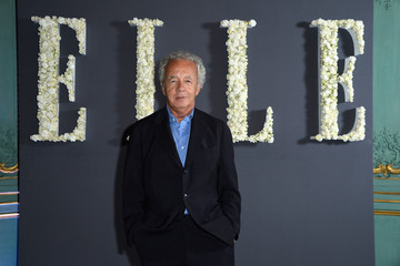 Gilles Bensimon Elle U.S. and Elle France Anniversary Celebration - Photocall and Cocktail