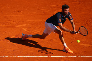Gilles Simon ATP Masters Series: Monte Carlo Rolex Masters - Day One