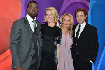 Gillian Anderson Red Carpet at the NBC Upfront Event in NYC