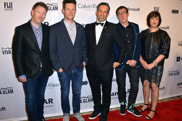Gillian Gilbert Arrivals at the amfAR Inspiration Gala — Part 2