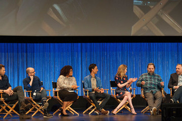 Gillian Jacobs Danny Pudi 'Community' Honored at PaleyFest