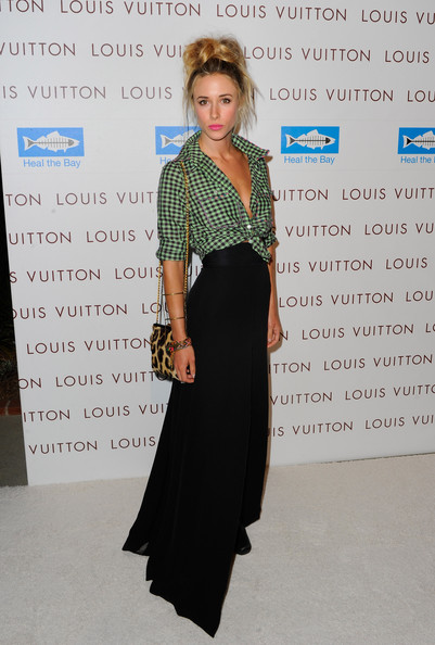 Gillian Zinser Actress Gillian Zinser arrives at the after party for the opening of Louis Vuitton Santa Monica to Benefit Heal the Bay  at Annenberg Beach House on August 19, 2010 in Santa Monica, California.