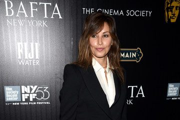 Gina Gershon BAFTA New York & The Cinema Society With FIJI Water & St-Germain Host A Party For The New York Film Festival