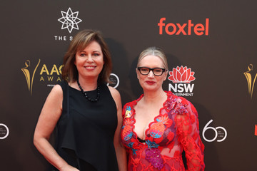 Gina Riley 2018 AACTA Awards Presented By Foxtel - Red Carpet
