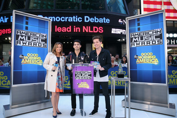 Ginger Zee 2015 American Music Awards Nominations Announcement at 'GMA'