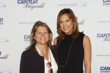 Ginger Zee Annual Charity Day Hosted by Cantor Fitzgerald and BGC - Cantor Fitzgerald Office - Arrivals