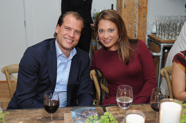 Race Pasta Dinner At Laura Frerer-Schmidt Private Loft (Ginger Zee