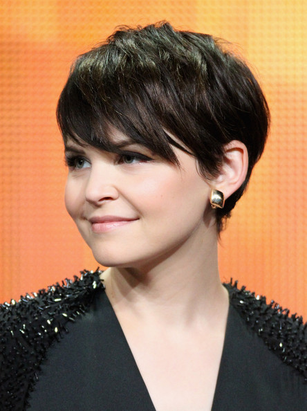 "Ginnifer Goodwin Actress Ginnifer Goodwin of the television show ""Once Upon A Time"" speaks during the Disney ABC Television Group portion of the 2011 Summer Television Critics Association Press Tour held at The Beverly Hilton Hotel on August 7, 2011 in Beverly Hills, California."